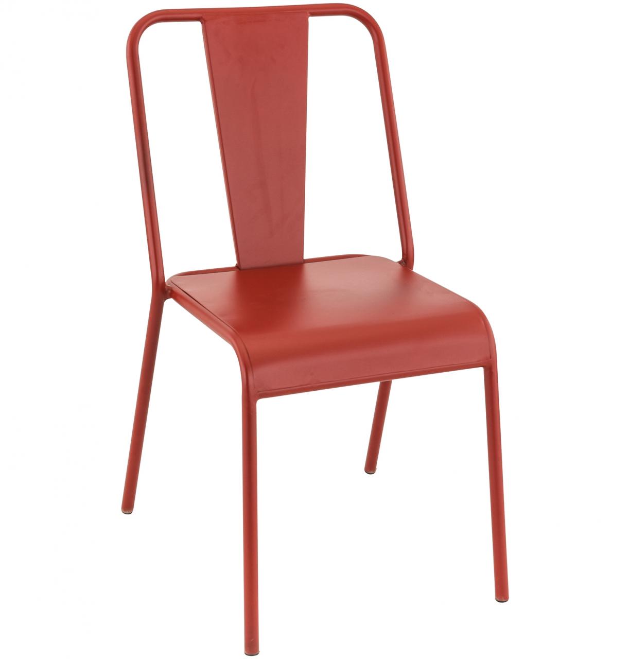 Mobilier coulomb chaise de terrasse m tal rivoli for Chaise de terrasse occasion