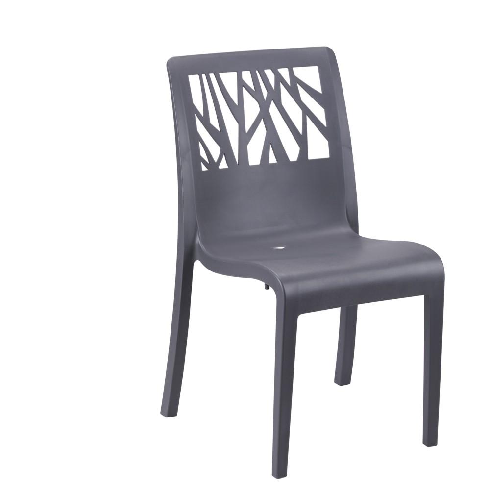 mobilier coulomb chaise de terrasse polypropyl ne v g tal mobilier terrasse de bar. Black Bedroom Furniture Sets. Home Design Ideas