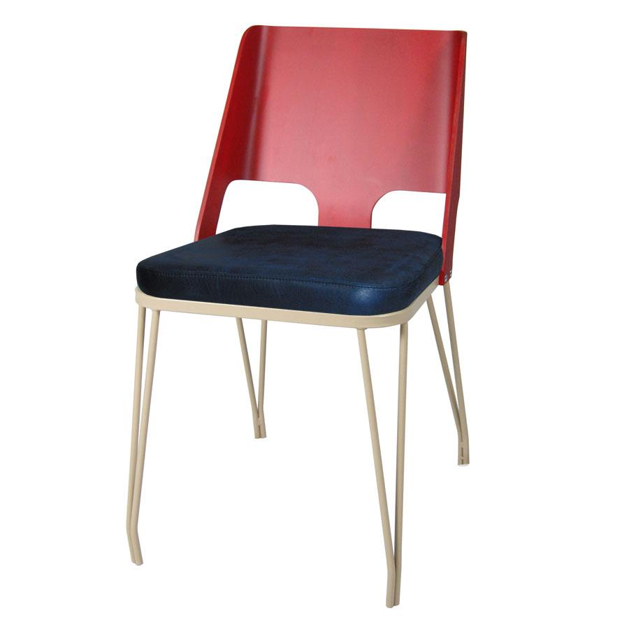 mobilier coulomb chaise velvet acier bois mobilier int rieur de bar et restaurant chr. Black Bedroom Furniture Sets. Home Design Ideas