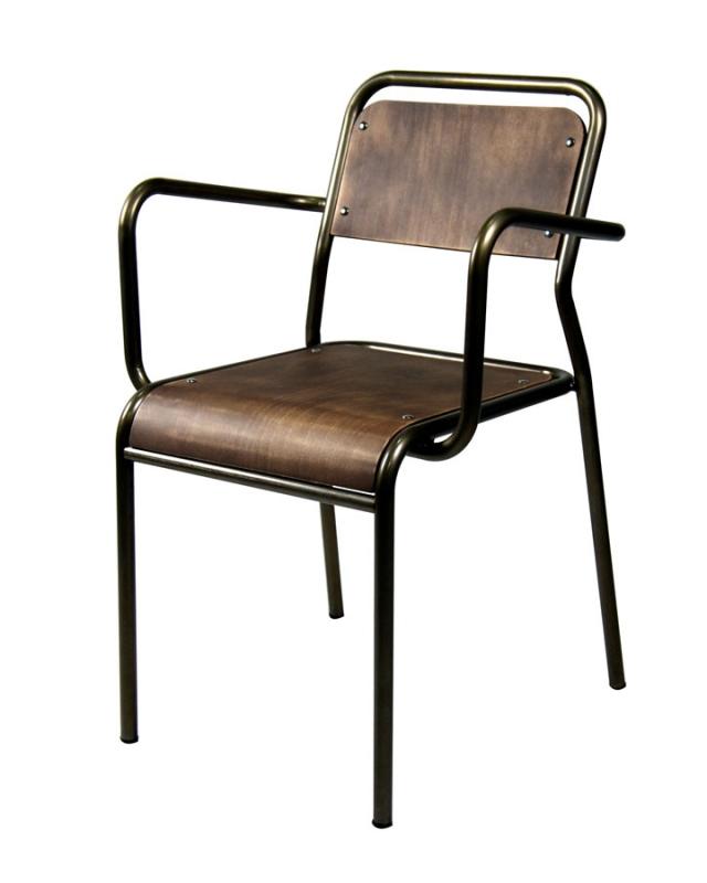 mobilier coulomb fauteuil acier tr vi mobilier int rieur de bar et restaurant chr fauteuil. Black Bedroom Furniture Sets. Home Design Ideas