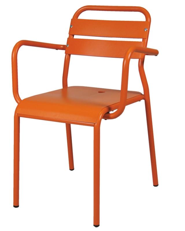 mobilier coulomb fauteuil aluminium fontana mobilier terrasse de bar restaurant chr. Black Bedroom Furniture Sets. Home Design Ideas