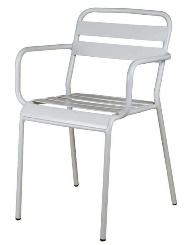 mobilier coulomb fauteuil aluminium coco mobilier terrasse de bar restaurant chr fauteuil. Black Bedroom Furniture Sets. Home Design Ideas