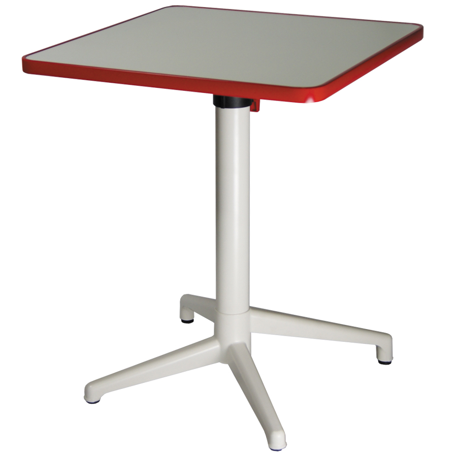 mobilier coulomb table m tal pliante encastrable click mobilier terrasse de bar restaurant. Black Bedroom Furniture Sets. Home Design Ideas