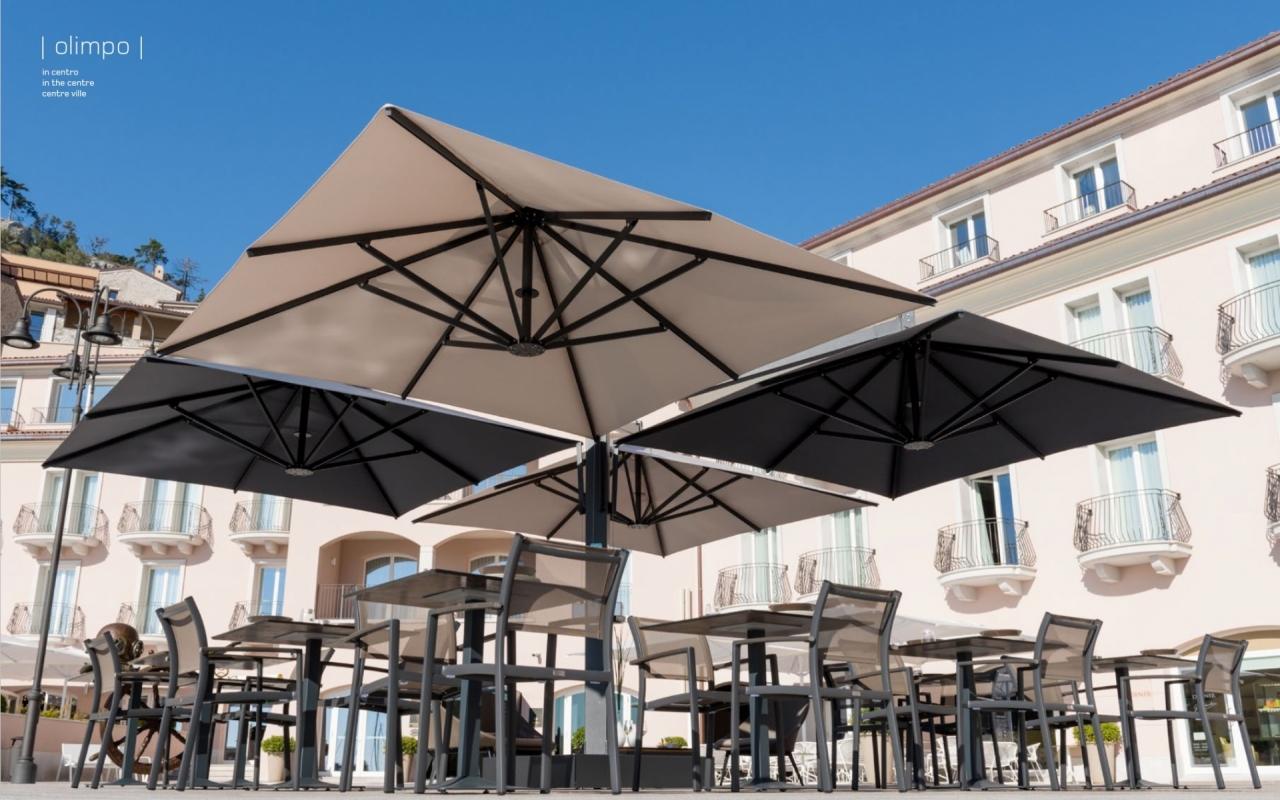 mobilier coulomb parasol multiple maxi mobilier terrasse de bar restaurant chr parasols de. Black Bedroom Furniture Sets. Home Design Ideas