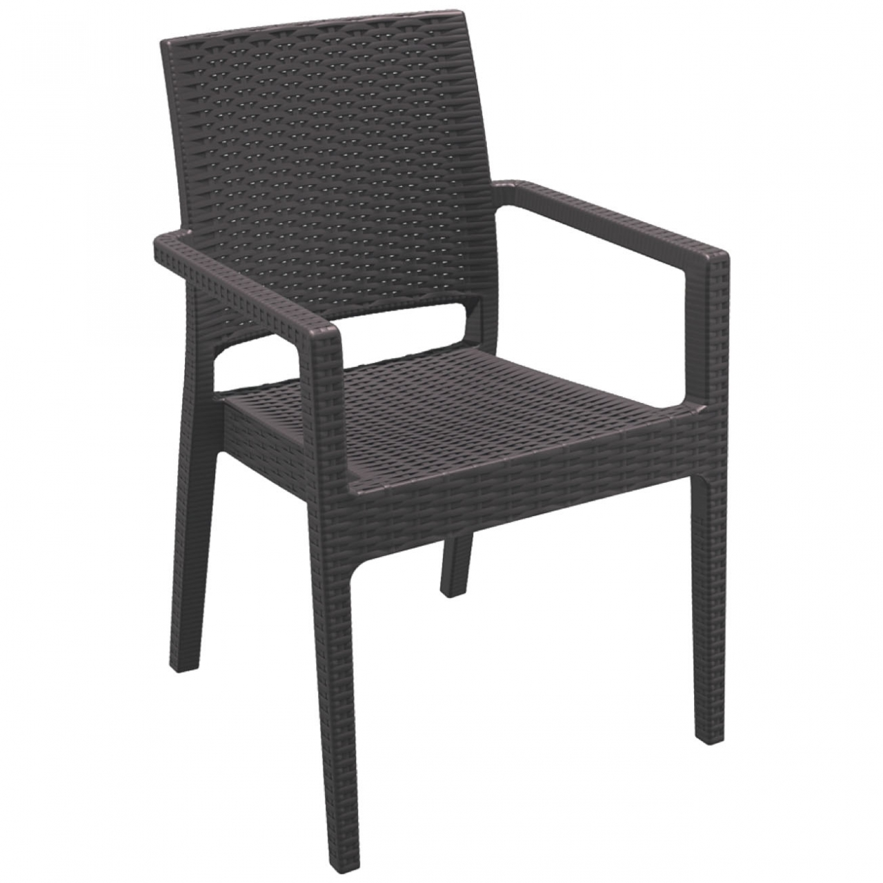 mobilier coulomb fauteuil de terrasse polypro jamaica mobilier terrasse de bar restaurant. Black Bedroom Furniture Sets. Home Design Ideas