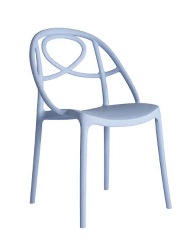 Chaise design polypropylene
