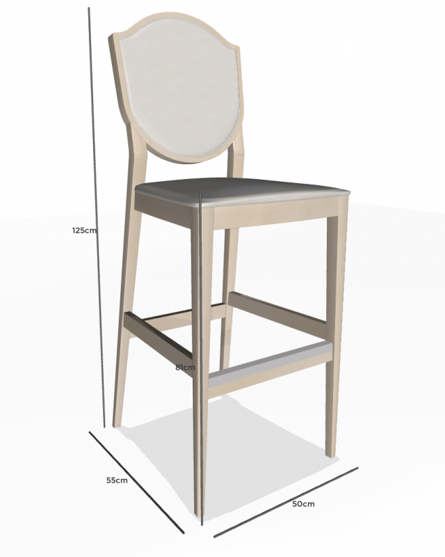 mobilier coulomb tabouret personnalisable blason mobilier int rieur de bar et restaurant. Black Bedroom Furniture Sets. Home Design Ideas